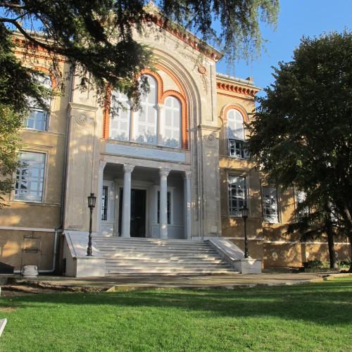 Entrée de l'École théologique de l'île de Chalki