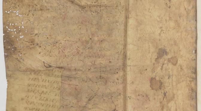 Un fragment en majuscule de la Hiérarchie ecclésiastique du Pseudo-Denys (Paris, BnF, gr. 739)