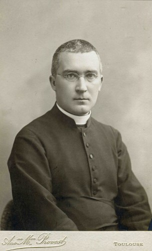 Monseigneur Batiffol, Toulouse, 1898 © Compagnie des Prêtres de Saint-Sulpice