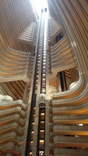 Hotel Marriott Marquis, Lobby Level, Atlanta