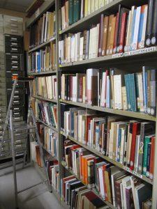 La bibliothèque de la Section grecque