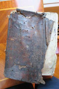 Une reliure de technique byzantine (16e s.)