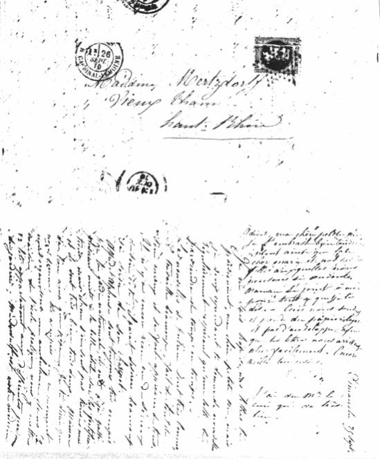 Connu Les enveloppes | Publier une correspondance ZR04
