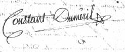 Louis Daniel Constant Duméril-1795-à sa mère