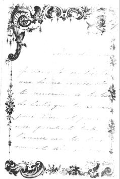 Lettre de bonne année de la petite Caroline Duméril - 31 décembre 1846