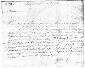 A.M.C. Duméril à sa mère, 29 juin 1795