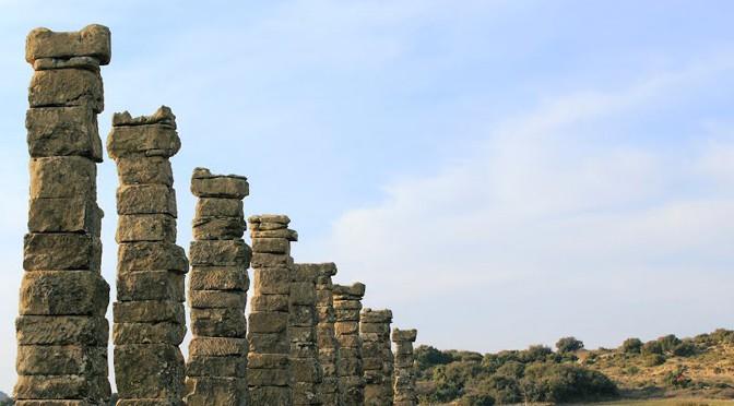 Atelier d'archéologie, Los Bañales, mars 2015