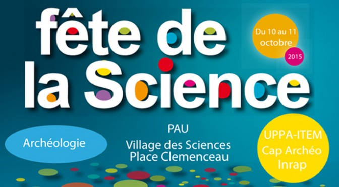 Fête de la Science, Pau, 10-11 octobre 2015