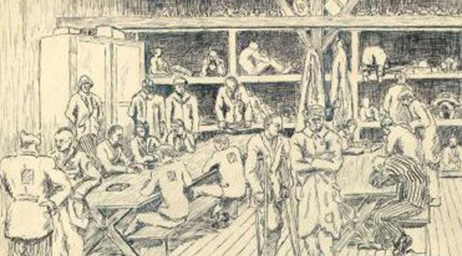 Un Béarnais, peintre de l'horreur de Buchenwald