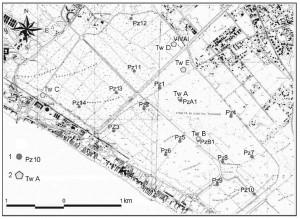 Idrogeologia del delta del Tevere