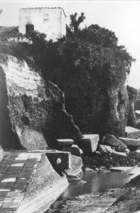 Fig. 2 - La zona indagata da P. Bruzza in corso di scavo (foto Archivio SSBAR)