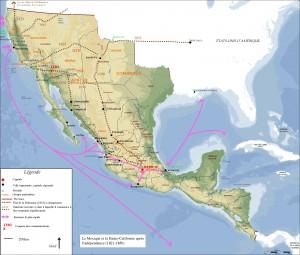 Carte du Mexique 141003