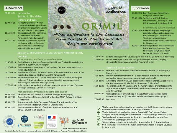 ORIMIL Affiche 2 program to print
