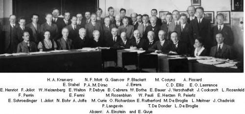 Conseil Solvay 1933