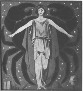 Dessin de Jacques Nam réalisé en 1919
