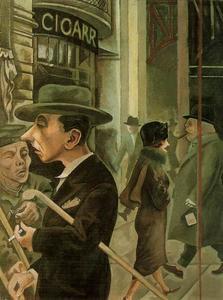 George-Grosz-Street-scene.-Kurfustendamn-S