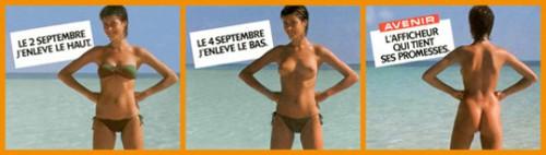 Campagne Avenir publicité, 1981