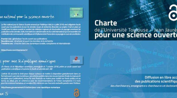charte science ouverte UT2J, c'est voté