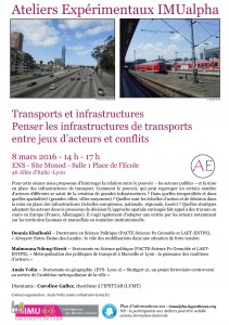 Affiche AEX Transports