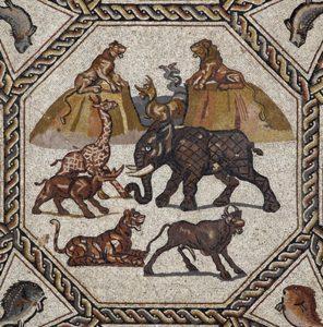 Mosaic of Lod (Palestine). Circa AD 300