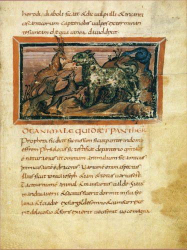 Bern Physiologus, 9th Century