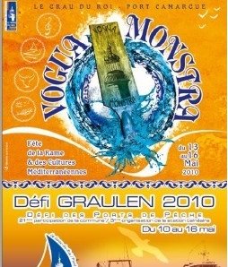 Affiche de la Vogua Monstra 2010, photographie de Marie-Véronique Amella