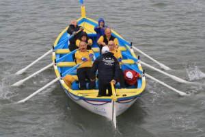 Equipe mixte de rameurs, photographie du site snja