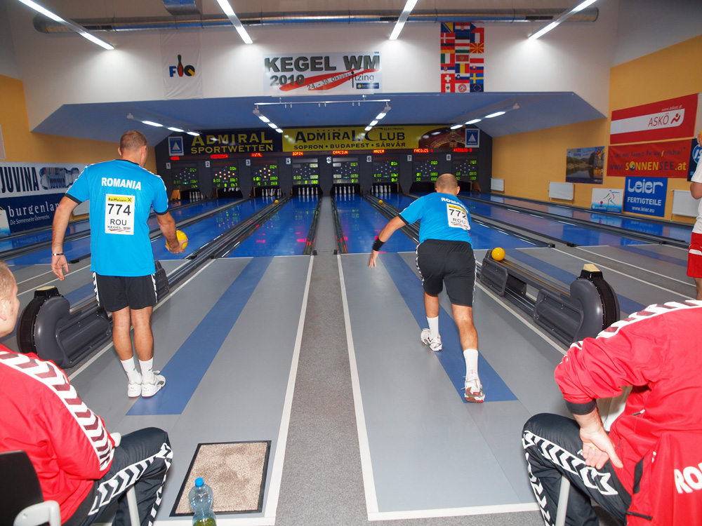 Partie de Nine Pin Bowling Classic, photographie du site World Bowling Ninepin Association