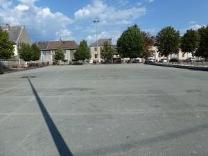 Terrain de boule lyonnaise, La Mure d'Isère, photographie de Benoist Guillaume