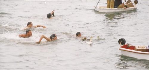 Course aux canards, photographie fournie par Fanch Perù