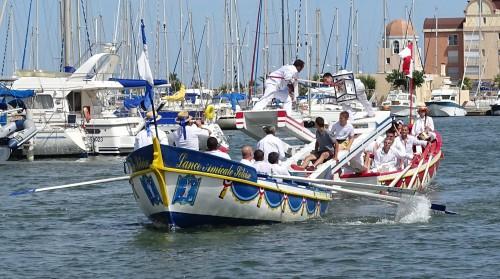 Joutes nautiques, Gruissan (Aude), 5 juillet 2014 Photographie du groupe de recherche PARCORES