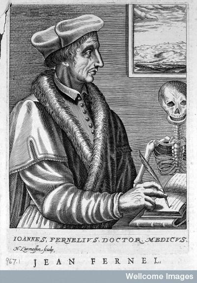 L0017041 Portrait of Jean François Fernel [1497? – 1558]