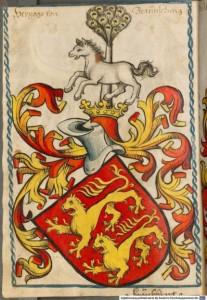 Das Braunschweiger Wappen im Scheiblerschen Wappenbuch (München, BSB, #####)