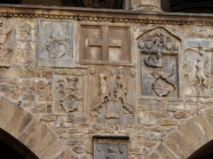 Florence, Bargello palace. detail (photo: Matteo Ferrari)