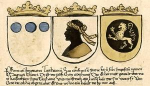 Abbildung des imaginären Großkhan-Wappens