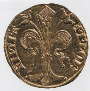 Florin d'or, 1252-1303. Florence, Museo Nazionale del Bargello