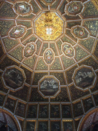 Sala dos brasões, royal palace in Sintra  (photo: TH)
