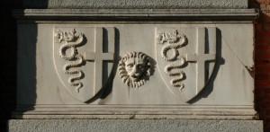 Fragment du tombeau de Blanche de Savoie, 1388-1390.