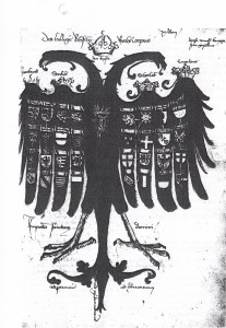 Quaternionenadler Heinrich van Beecks. HAStK, C+D 20 fol. 48r.