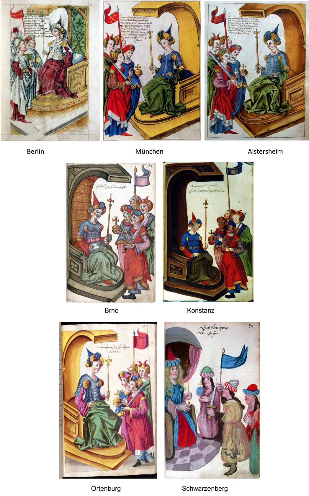 Fig.2 Queen of Amazons – a comparison