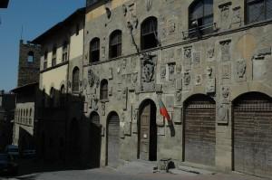 Palazzo pretorio à Arezzo