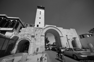 Vue de Bab Sharqi. Photographie de Ziad Salloum.