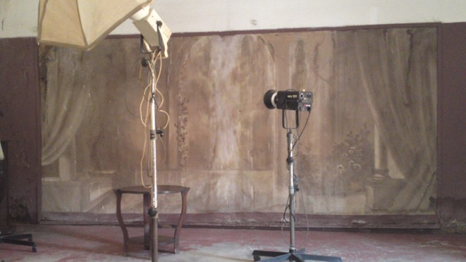 Fond Studio George, Douala. © Rosario Mazuela