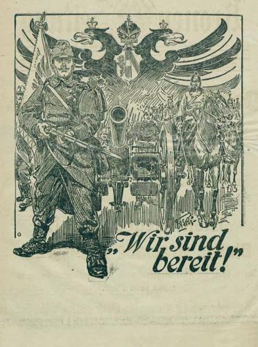 Illustrierte Kronen-Zeitung, 27.7.1914