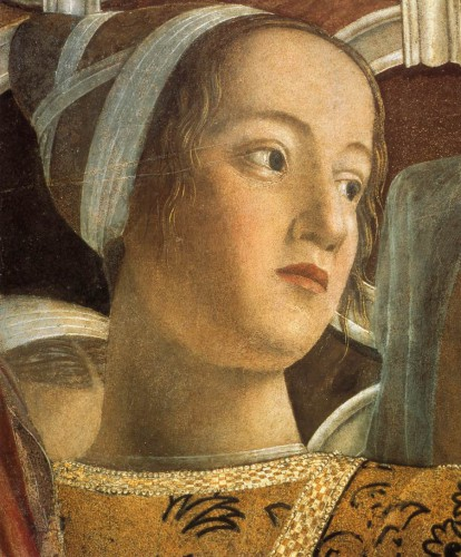 Barbara Gonzaga (Andrea Mantegna, Camera degli Sposi, Mantova)