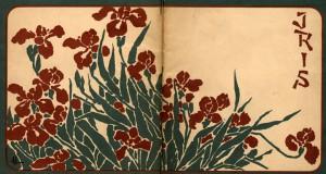 Iris di Pietro Mascagni, copertina del libretto, illustrazione di Adolf Hohenstein, 1898