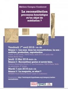 La reconstitution-Affiche-Campus-Condorcet