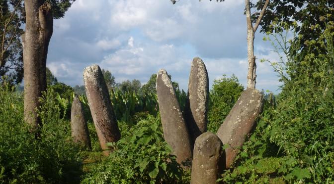 Paysage mégalithique de la zone Gedeo / Megalithic landscape of Gedeo zone