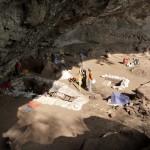 Fouilles de l'abri-sous-roche de Mochena Borago / Mochena Borago rockshelter under excavation (© SWEAP/CRC 806 project)