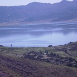 Fig. 3. Hashenge lake, one of the sites where I conducted the fieldwork (© Fesseha Berhe)